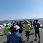 【大会当日の模様②】アクアライン橋上(9~19km) 【ちばアクアラインマラソン2018】