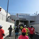 【大会当日の模様④】袖ケ浦市内での様子(23~24km) ─ ちばアクアラインマラソン2018 ─