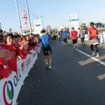 【大会当日の模様⑦】木更津市内での様子(36km~ゴール地点) ─ ちばアクアラインマラソン2018 ─