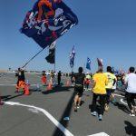 【大会当日の模様③】三井アウトレットパーク木更津周辺(19~22km) ─ ちばアクアラインマラソン2018 ─